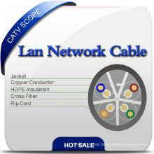 U/UTP Shielded Cat 6A Twisted Pair Installation Cable