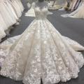 Alibaba haute qualité femmes robe de bal robe de mariée de luxe 2017 WT340