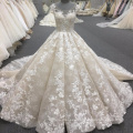 Alibaba high quality women ball gown luxury wedding dress 2017 WT340