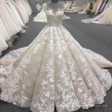 Alibaba alta qualidade mulheres vestido de baile vestido de noiva de luxo 2017 WT340