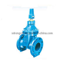 Ductile Iron Flange Ends Resilient Steam Non-Rising Gate Valve