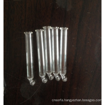 Glass Clear Tubular Curved Pipette for Fropper