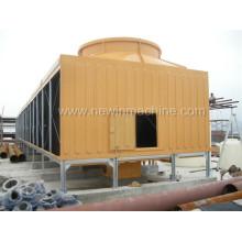 Torre de resfriamento de fluxo cruzado de baixo ruído FRP Newin (NST-150 / S)