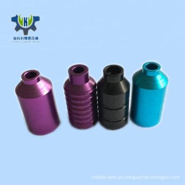 Funda de aluminio anodizado de precisión profesional.