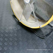 Coloured Durable Industrial/Commerical Anti-Slip Rubber Safety Checker Pattern Rubber Sheeting