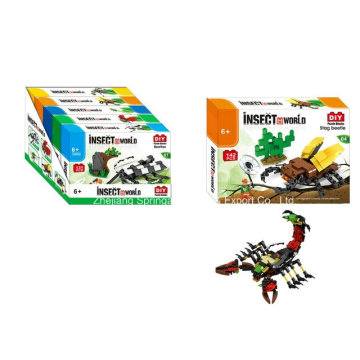 Boutique Building Block Toy for DIY Insect World-Stag Beetle