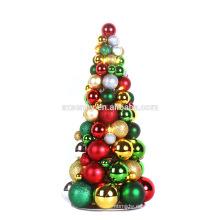 Árbol de ornamento de Navidad iluminado inquebrantable