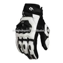 OEM Personalizado Hot Sales Custom Made Motocicleta De Couro Motocross Moto Ciclismo Corrida Equitação Esportes Luva