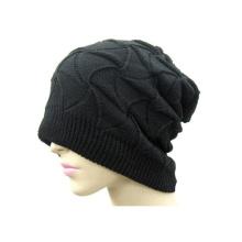 Chapéus feitos malha do inverno da lantejoula