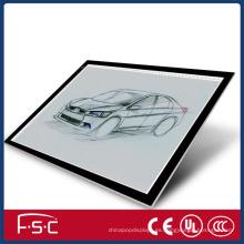 Animación dibujo tablero de seguimiento LED superior