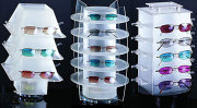 Fashion acrylic eyeglass display stand