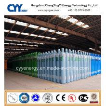 30L 150bar Cylindre de gaz d'acier au dioxyde de carbone à dioxyde de carbone à oxygène