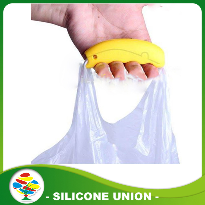 silicon hand shank for Plastic bag