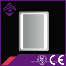 Jnh158 precio bajo rectángulo LED baño chamfer Edge muebles espejo