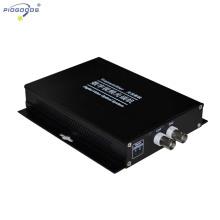 convertidor de video digital cctv de fibra óptica