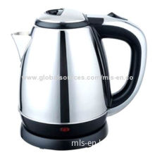 1.8L house commodity stainless steel electrical kettle for water boiling