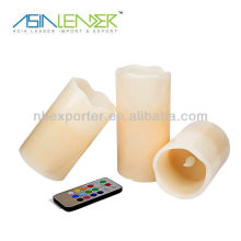 Remote control wholesale battery operated tealight candles