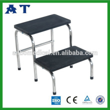 Stainless steel foot stool (double steps)