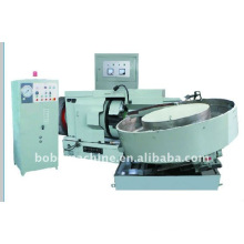 Horizontal steel ball polishing machine