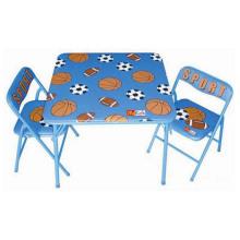 Kinder Metall Klapptisch Rückenlehne Stühle zum Verkauf
