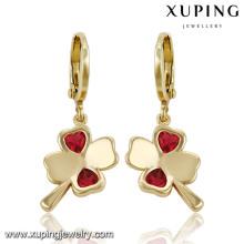 Мода хороший прекрасный цветок ювелирные изделия CZ серьги капли 91313