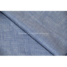 Seda lã de amoreira lã e tecido misturado de linho