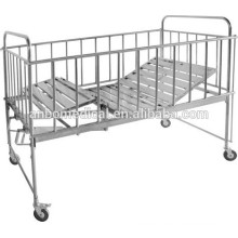 hospital or home care stainless steel material children bed