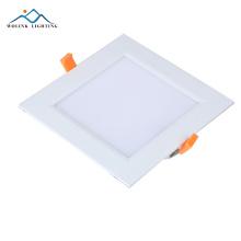 Alumínio de 120 graus PMMA luz de painel conduzida redonda 6w da garantia de 3 anos