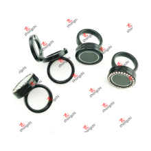 Custom New Designs Alloy Locket Rings Jewelry for Girl (NDR51204)