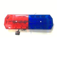 72W Coche de seguridad Luz estroboscópica multi Luz ámbar Rojo Azul LED Señal de advertencia de sirena