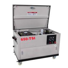 Generador diesel silencioso móvil de cuatro ruedas de 5kw-15kw incluido