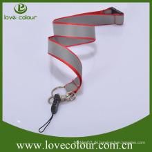Gute Qualität geflochtene Schnur Handy Lanyards / reflektierende Lanyard