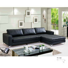 North Europe Style Modern Leather Sofa (8053)