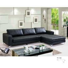 Северная Европа стиль современный кожаный диван (8053)