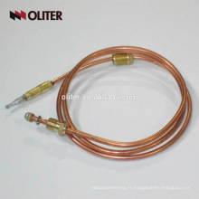 EGT échappement économique contrôleur de température type de virole isolé anti-déflagrant gaz four pièces universelle thermocouple