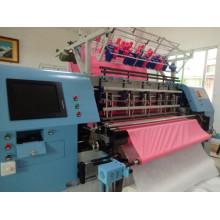 Últimos traslados de máquina que acolcha de la multi-aguja, edredón acolchado máquina para la venta