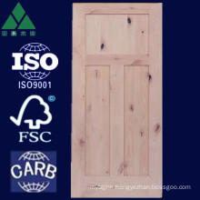 1/2/3/5 Panel Shaker Alder Solid Wood Door