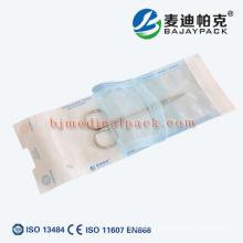 Medical self-sealing sterilization pouch