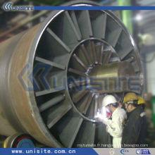 Tête de soudure en acier pour dragueur (USC-10-007)