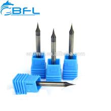 BFL 3.175 Schaftfräser mit 0,5 mm-Schaftfräser aus Hartmetall mit Mikrospitze