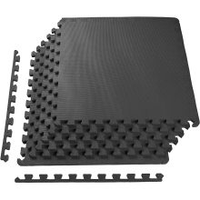 Exercise 60X60CM Puzzle Exercise EVA Foam Mat Interloking Tiles for MMA, Exercise, Gymnastics and Home Gym Protective Flooring