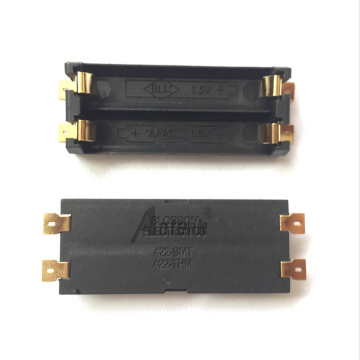 Supporto per batteria 2 * AAA SMD Surface Mount
