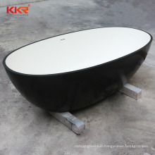 Free raw material sample supply acrylic solid surface freestanding soaking bath