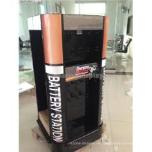 Productos de energía Tiendas al por menor 4-Way Eco-Friendly Automotriz o batería de células secas Display Stands