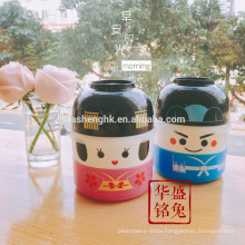 Japanese style disposable plastic bento lunch box