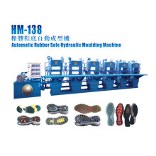 Automatic Rubber Sole Injection Moulding Machine