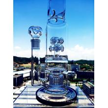Hb King Новый дизайн кнопки Birdcage Perc стеклянная труба с оптовой цене