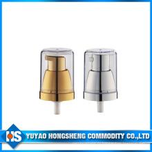 Китайский кремовый насос с печатью для пластиковой бутылки для парфюмерии