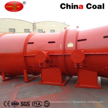 Ventilateur de ventilation axiale d'échappement souterrain d'extraction anti-déflagrant