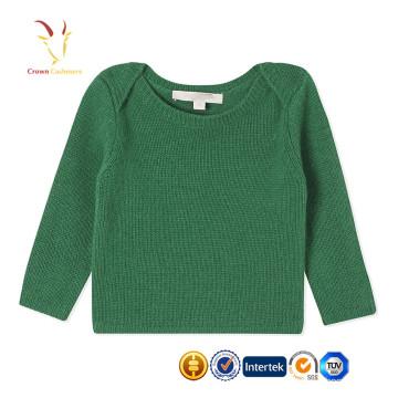 Baby Boy Sweater Designs Cachemire Knit Pashmina Pull Échantillons